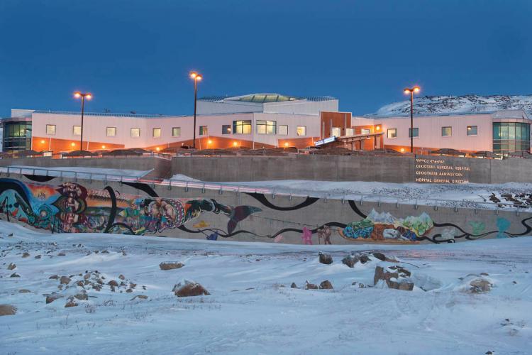 Qikiqtani General Hospital in Iqaluit